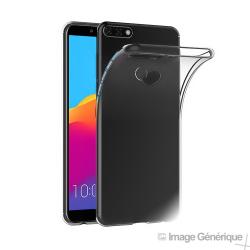 Coque Silicone Transparente pour Huawei Y7 Prime 2018