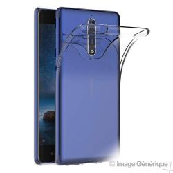 Coque Silicone Transparente pour Nokia 8