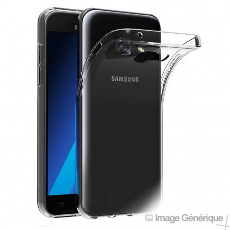 Coque Silicone Transparente pour Samsung Galaxy A3 2017
