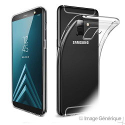 Coque Silicone Transparente pour Samsung Galaxy A6 2018