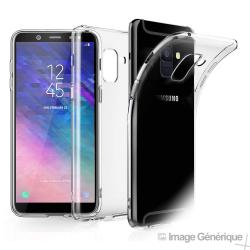 Coque Silicone Transparente pour Samsung Galaxy J6 2018