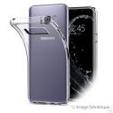 Coque Silicone Transparente pour Samsung Galaxy S8 Plus