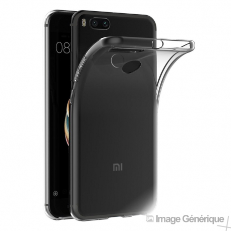 Coque Silicone Transparente pour Xiaomi Mi A1