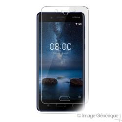 Verre Trempé Pour Nokia 8 (9H, 0.33mm)
