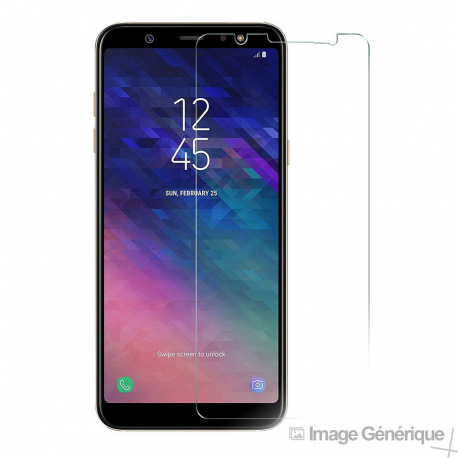 Verre Trempé Pour Samsung A6 Plus (9H, 0.33mm)