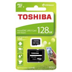 Carte Mémoire Toshiba 128 Go (Avec Adaptateur carte SD)