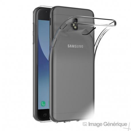 Coque Silicone Transparente pour Samsung Galaxy J3 2017