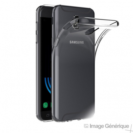 Coque Silicone Transparente pour Samsung Galaxy J5 2017