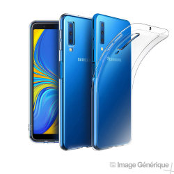 Coque Silicone Transparente pour Samsung Galaxy A7 2018