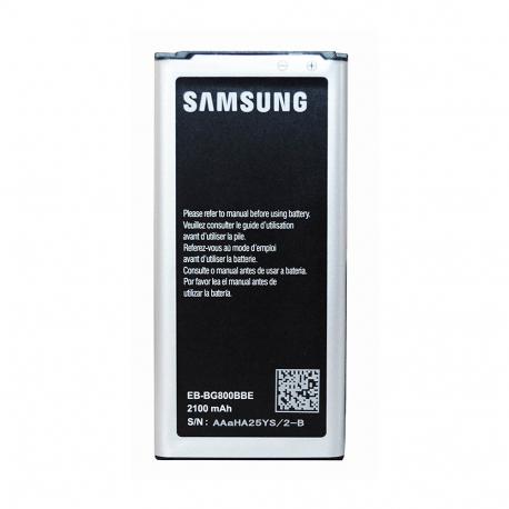 Batterie d'origine Pour Samsung Galaxy S5 Mini (Original, Modèle EB-BG800BBECWW)