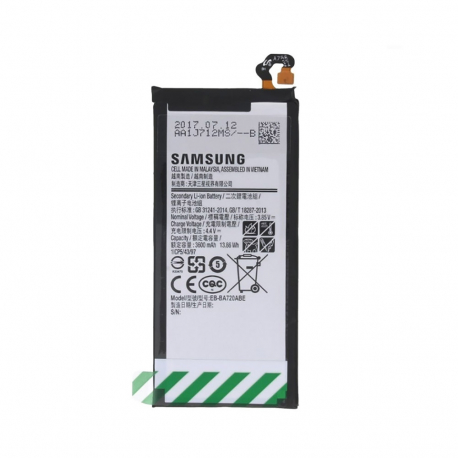 Batterie d'origine Pour Samsung Galaxy J7 (Original, Modèle Samsung EB-BA720ABE)
