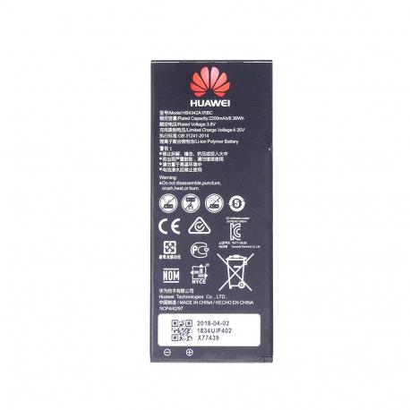 Batterie d'origine Pour Huawei Hornor 4A/Y6/Y5II  (Original, Modèle HB4342A1RBC)