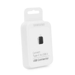 Samsung EE-UN930BBEGWW - Adaptateur OTG USB Type C Vers USB Type A - Noir (Emballage Originale)