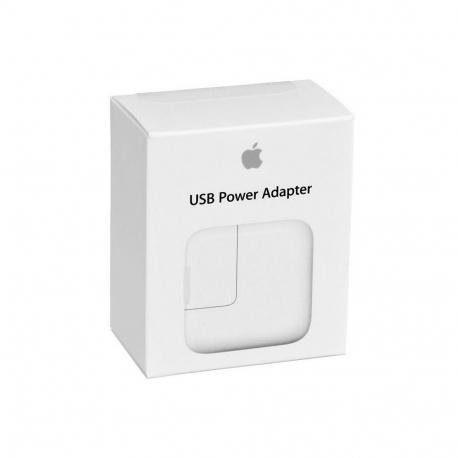 Apple MD836 - Adaptateur Secteur USB - 12W - Blanc (Blister)