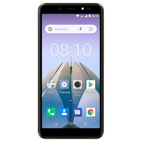 Konrow City 55 - Android 8.1 - 3G - Écran 5.34'' - 8Go, 1Go RAM - Or