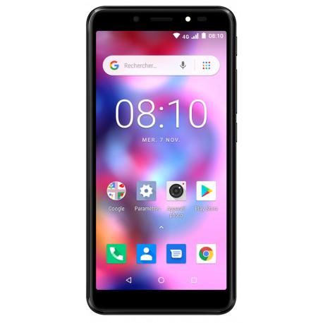 Konrow Easy 55 - Android 8.1 - 4G - Écran 5.34'' - Double Sim - 8Go, 1Go RAM - Noir