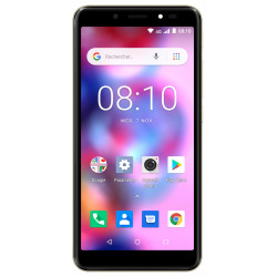 Konrow Easy 55 - Android 8.1 - 4G - Écran 5.34'' - Double Sim - 8Go, 1Go RAM - Or