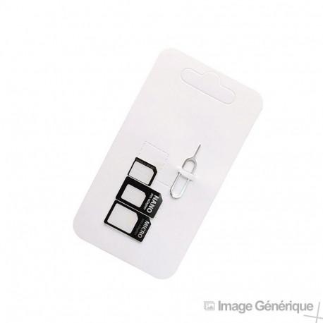Adaptateur Sim - Nano Sim et Micro Sim - 3 en 1