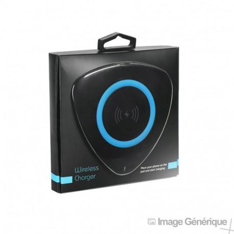 Chargeur à Induction Rapide 2A - Noir - Modèle HD23 (Emballage Originale)