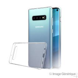 Coque Silicone Transparente pour Samsung Galaxy S10 Plus