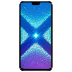 Honor 8X - Double Sim - 128 Go, 6 Go RAM - Noir