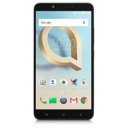 Alcatel 7071D A7 XL - Double Sim - Noir