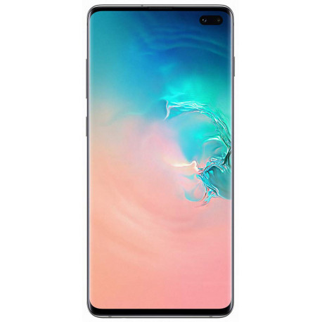 Samsung G975/DS Galaxy S10 Plus - Double Sim -128Go, 8Go RAM - Blanc
