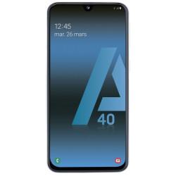 Samsung Galaxy A40 - Double Sim - 64Go, 4Go RAM - Blanc