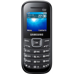 Samsung E1205 Keystone 2 Noir