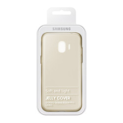 Coque de Protection Souple Officiel pour Samsung Galaxy J2 (2018) - Or