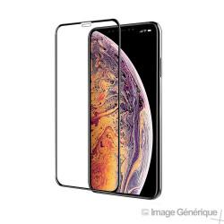 Verre Trempé Intégral Pour iPhone XS Max - Noir
