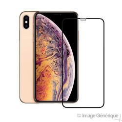 Verre Trempé Intégral Pour iPhone XR / iPhone 11 (3D - Noir)