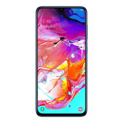Samsung A705FN/DS Galaxy A70 - Double Sim - 128Go, 6Go RAM - Bleu