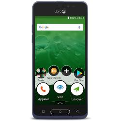 Doro 8035 4G/LTE - 16Go, 2Go RAM - Bleu nuit