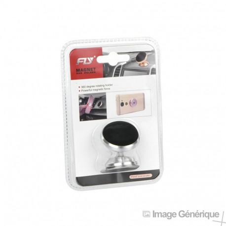 Support Voiture Magnétique - Autocollant - Noir (Emballage Originale)