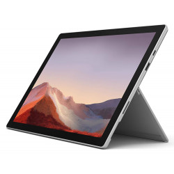 Microsoft Surface Pro 7 - Core i5 - 12.3'' - Wifi - 128Go, 8Go RAM - Windows 10 Famille - Platine (Vendu Sans Clavier)