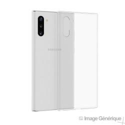 Coque Silicone pour Samsung Galaxy Note 10 Plus (Transparent)