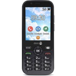 Doro 7010 - Double Sim - 4G - Graphite
