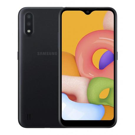 Samsung A015F/DS Galaxy A01 - Double Sim - 16Go, 2Go RAM - Noir (Version NON Garantie*)