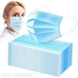 Pack de 50 Masques Chirurgicaux
