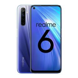 Realme 6 - Double Sim - Ecran 6.5'' - 64Go, 4Go RAM - Bleu