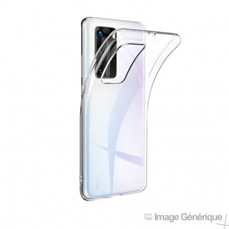 Coque Silicone Transparente pour Huawei P40