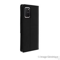 Étui à Rabat Similicuir pour Samsung Galaxy S20 Plus - Noir