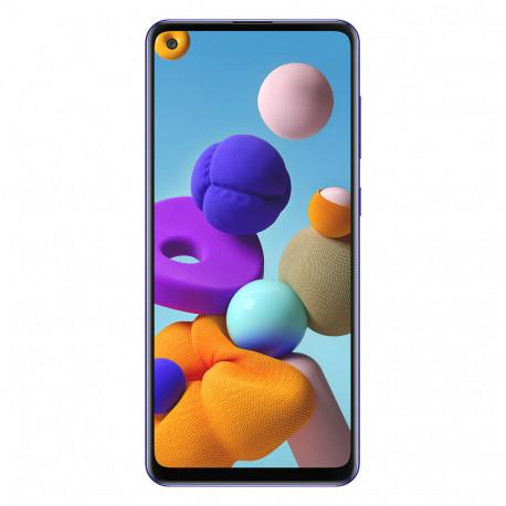 Samsung A217 Galaxy A21S - Double Sim - 64 Go, 4 Go RAM - Bleu