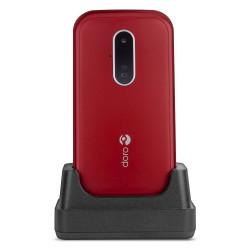 Doro 6620 Clapet - Rouge / Blanc