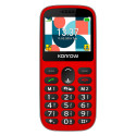 Konrow Senior 231 (Écran 2.31'' - Double Sim - Dock de charge Fourni) Rouge