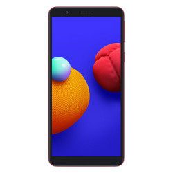 Samsung Galaxy A01 Core (Double Sim - 16 Go, 1 Go RAM) Rouge (Version non Européenne)