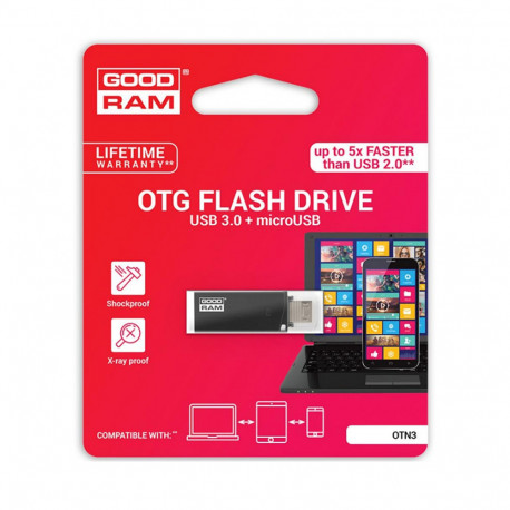 Clé USB GoodRam 32Go - OTG - Noir