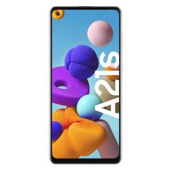 Samsung Galaxy A21S - Double Sim - 128 Go, 4 Go RAM - Blanc