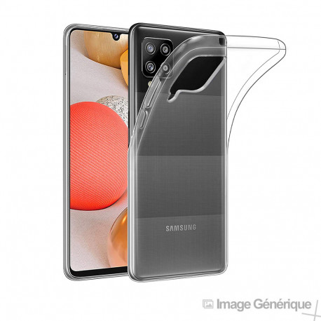 Coque Silicone pour Samsung Galaxy A42 5G - (0.5mm, Transparent)